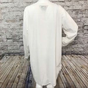 French Laundry Intimates   Sleepwear - ‼️French Laundry L Cotton Shirt  Nightgown ... 2cce84984